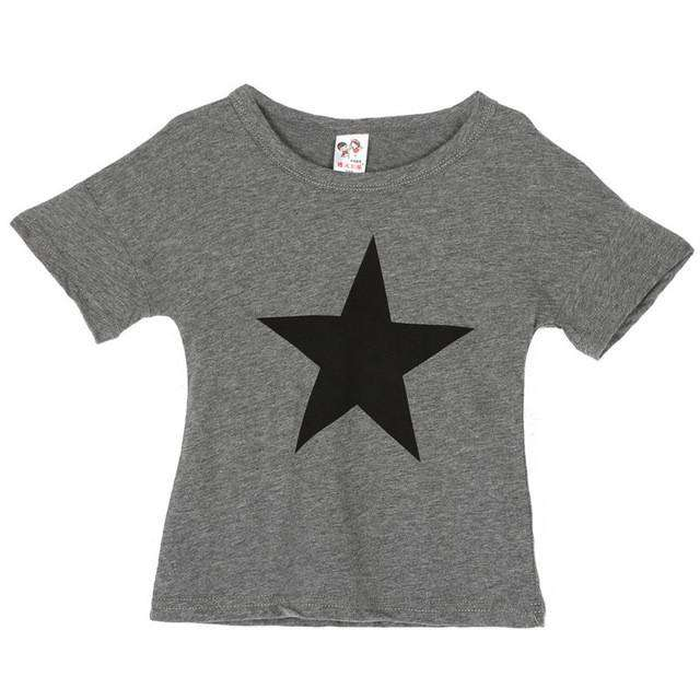 LoneStar T-Shirt - Grey (2-13 Years) (MRK X)