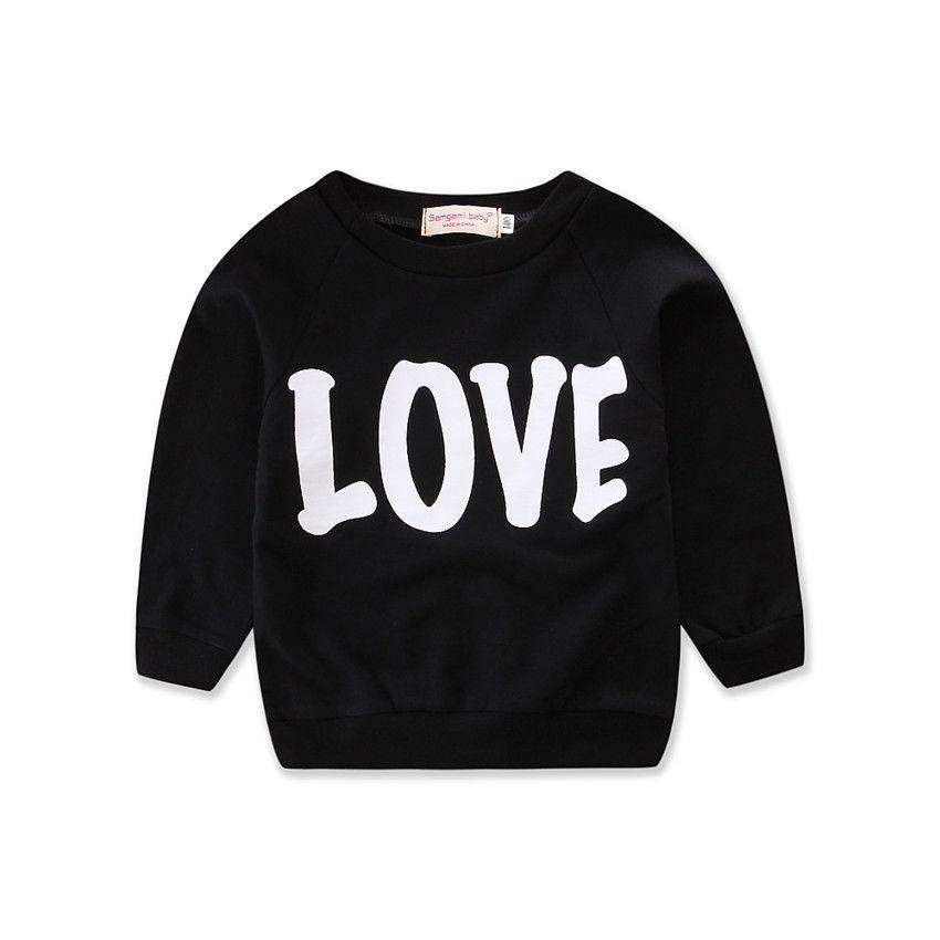 Mummy LOVE Matching Sweatshirt - Black - (MRK X)