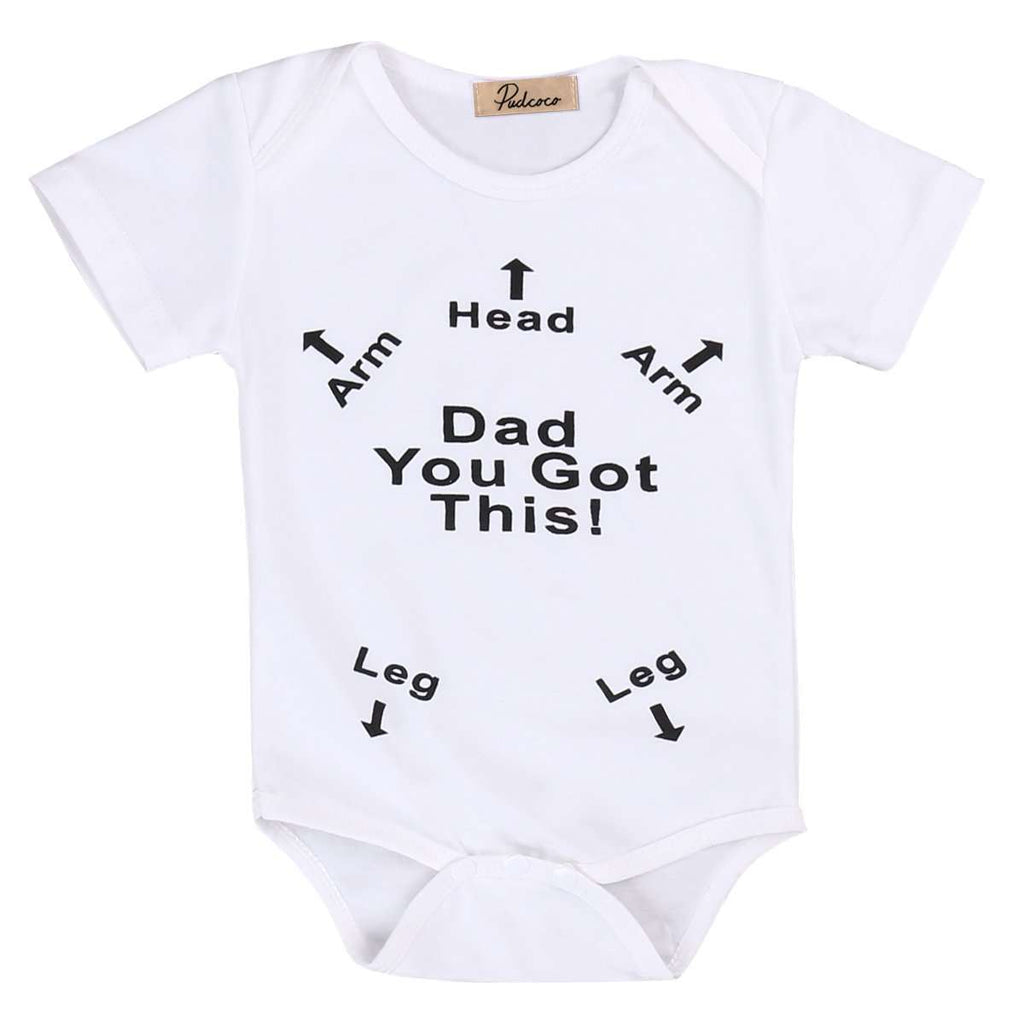 Dad Got This Bodysuits (0-24 Months) (MRK X)