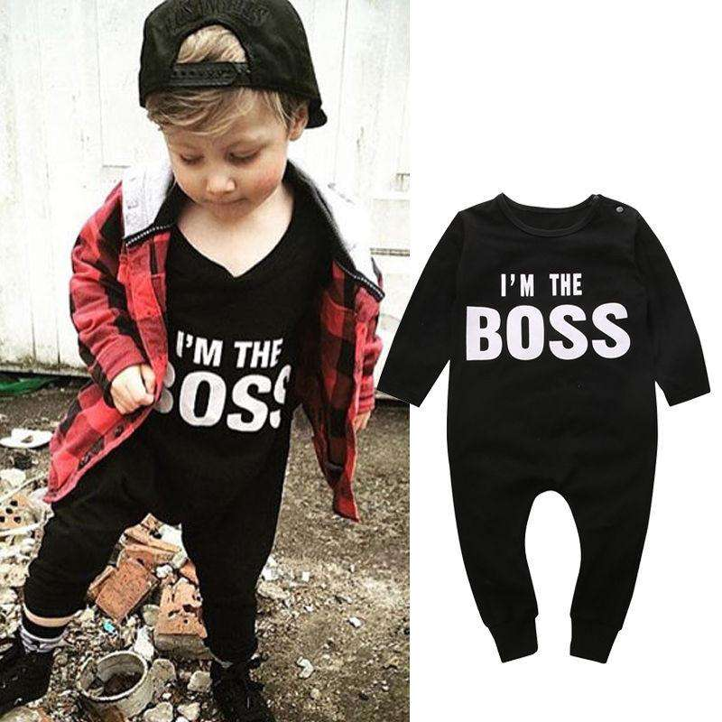 BOSS Long Sleeved Romper (4-24 Months) (MRK X)