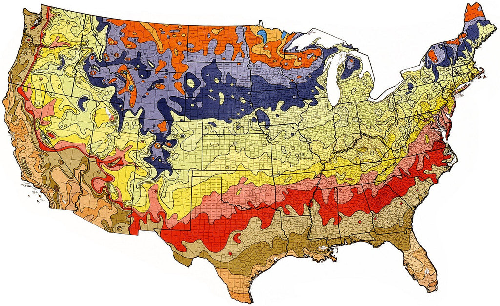 What Is Plant Hardiness And How Do I Find My Climate Zone Easy - Us climate map zone images