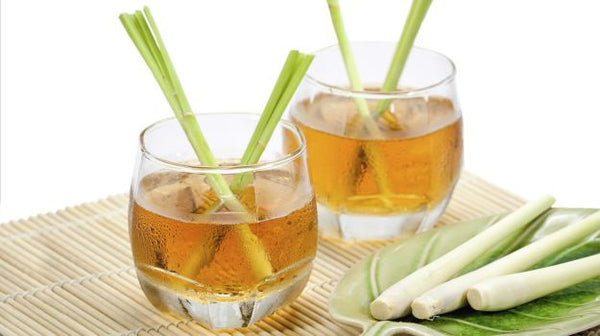 Lemongrass tea is flavorful and with many health benefits