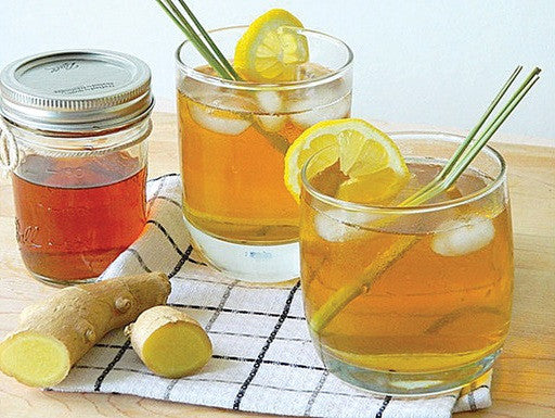 Lemongrass ginger and honey for lemongrass ginger tea
