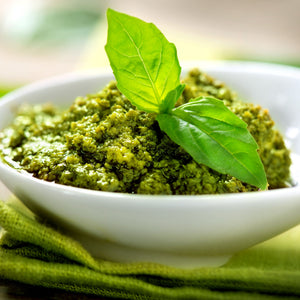 Basil Genovese Pesto in a bowl