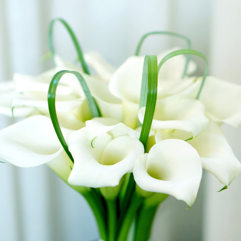 White Calla Bridal Bliss Bouquet