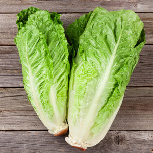 Romaine Lettuce on a table