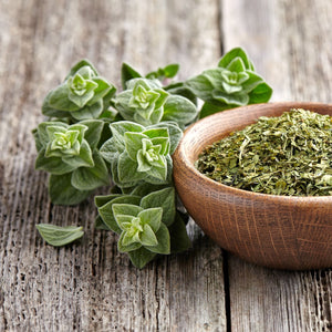 Dried Oregano in a bowl