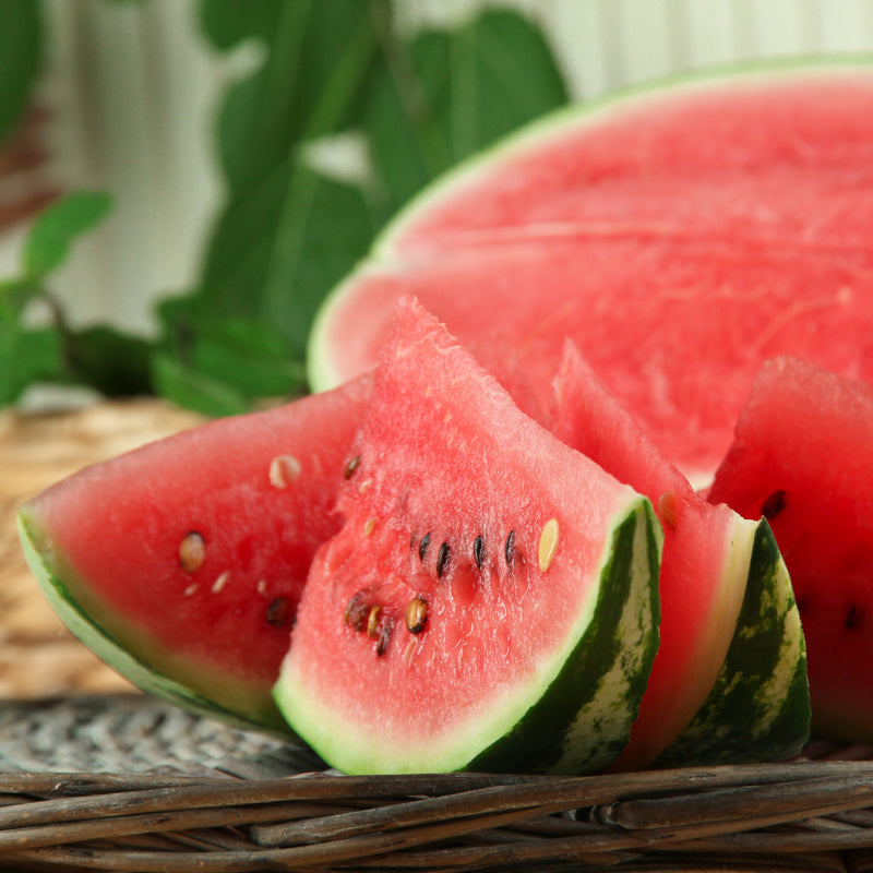sliced watermelon