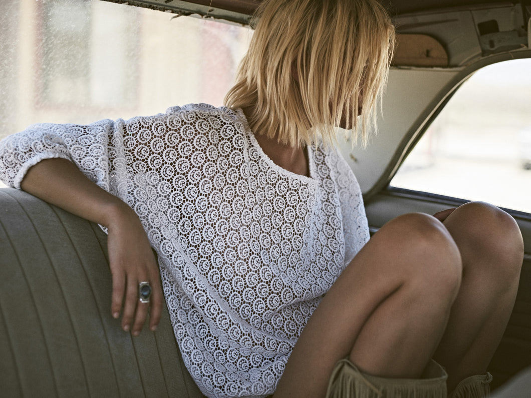my sunday morning emy cream lace sweater