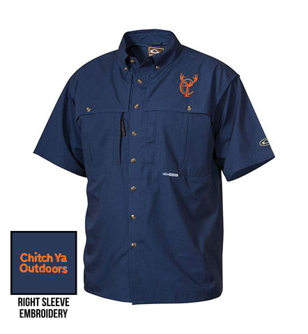 Short Sleeve Cotton Wingshooter's Shirt with Stay Cool™ Fabric