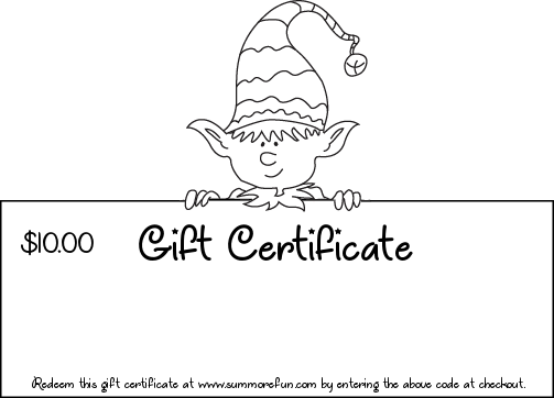 Gift Certificate to SumMore Fun