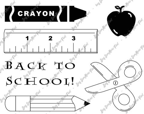 Back to School Set (10613-X)