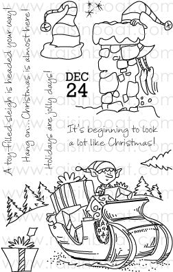 Elf Express stamp set
