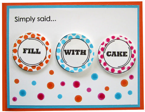 Fill With Cake (10053-Z)