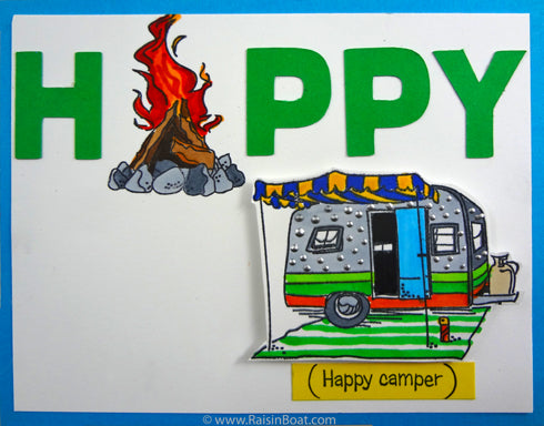 Happy camper (10296-Z)