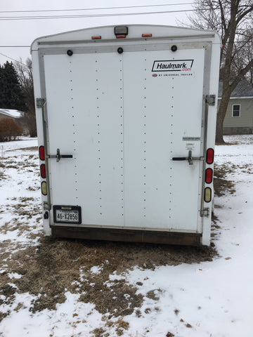 Customized 20' Haulmark Trailer