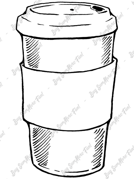 Sundri's To-Go Container Digital Stamp