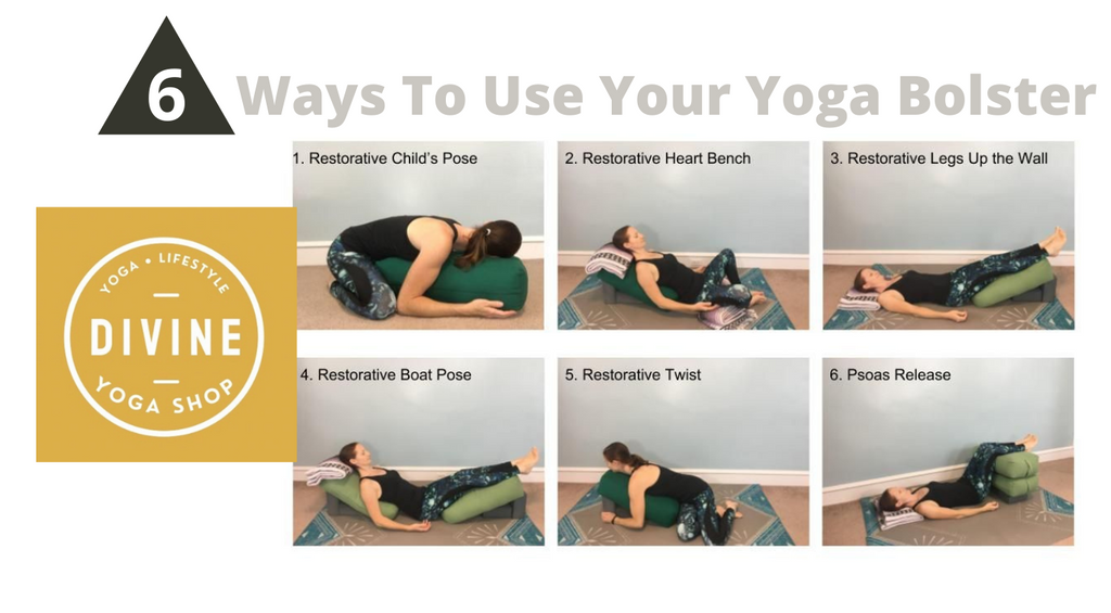 ways to use your yoga bolster