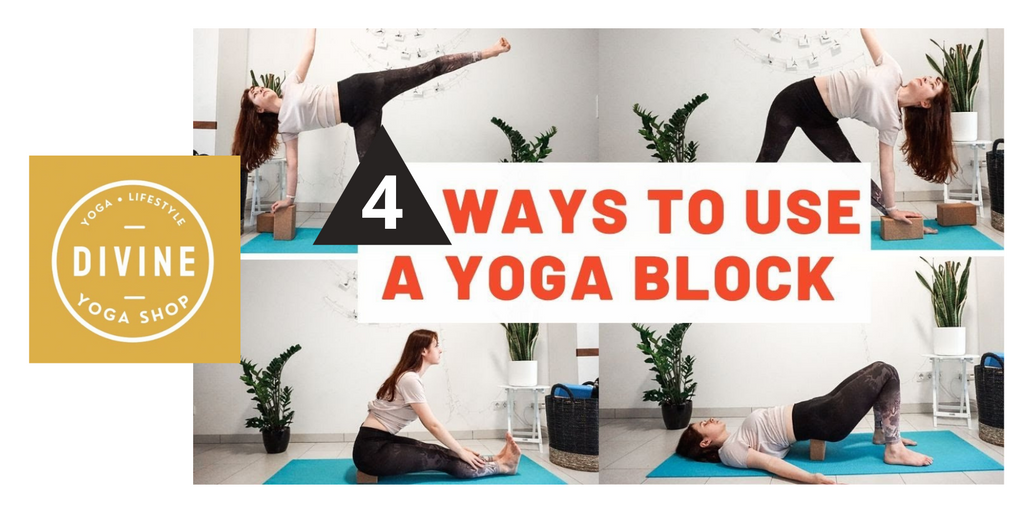 ways to use yoga block