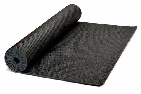 Premium STICKY YOGA MATS (Black) - Divine Yoga Shop