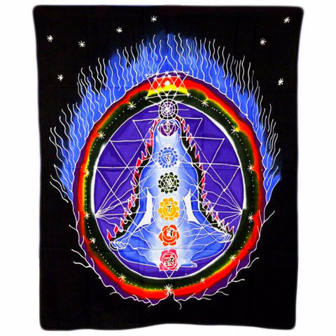 Wall Art Hanging- Divine Chakra - Divine Yoga Shop
