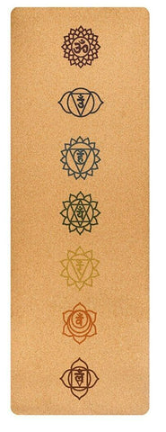 Eco-friendly Cork Yoga Mat- Natural Material & Anti Skid - Divine Yoga Shop
