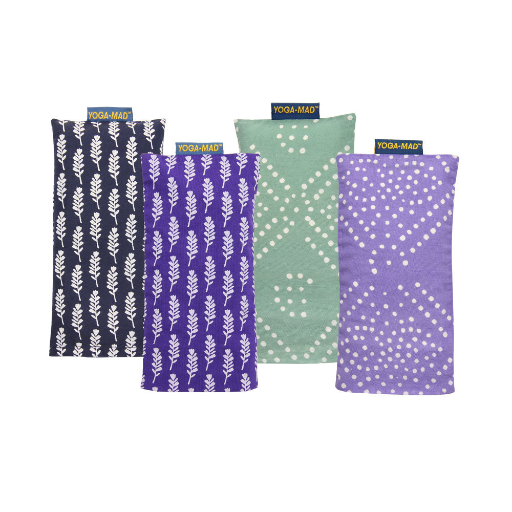 Cotton Eye Pillows- Filled With Lavender and Linseed - Divine Yoga Shop