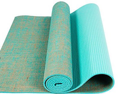 ECO YOGA MATS- MADE OF JUTE (Green)