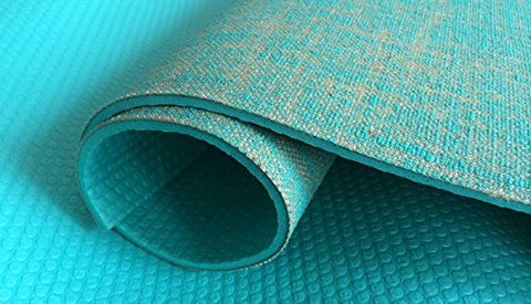 ECO YOGA MATS- MADE OF JUTE (Green) - Divine Yoga Shop