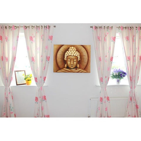 Meditating Buddha - Oil Painting - Divine Yoga Shop