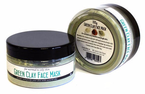 Natural Mineral Green Clay Face Mask - Divine Yoga Shop