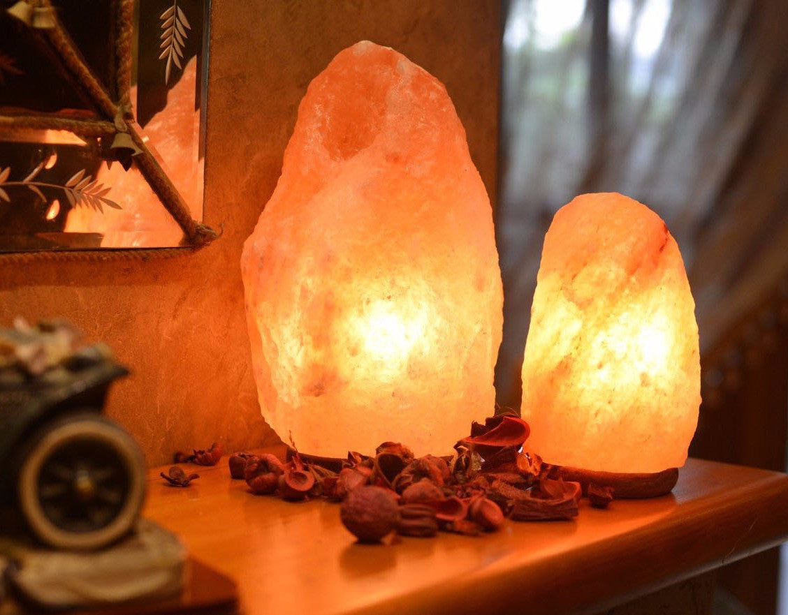 Himalayan Salt Lamp (USB) - 1.5 to 2 kgs - Divine Yoga Shop