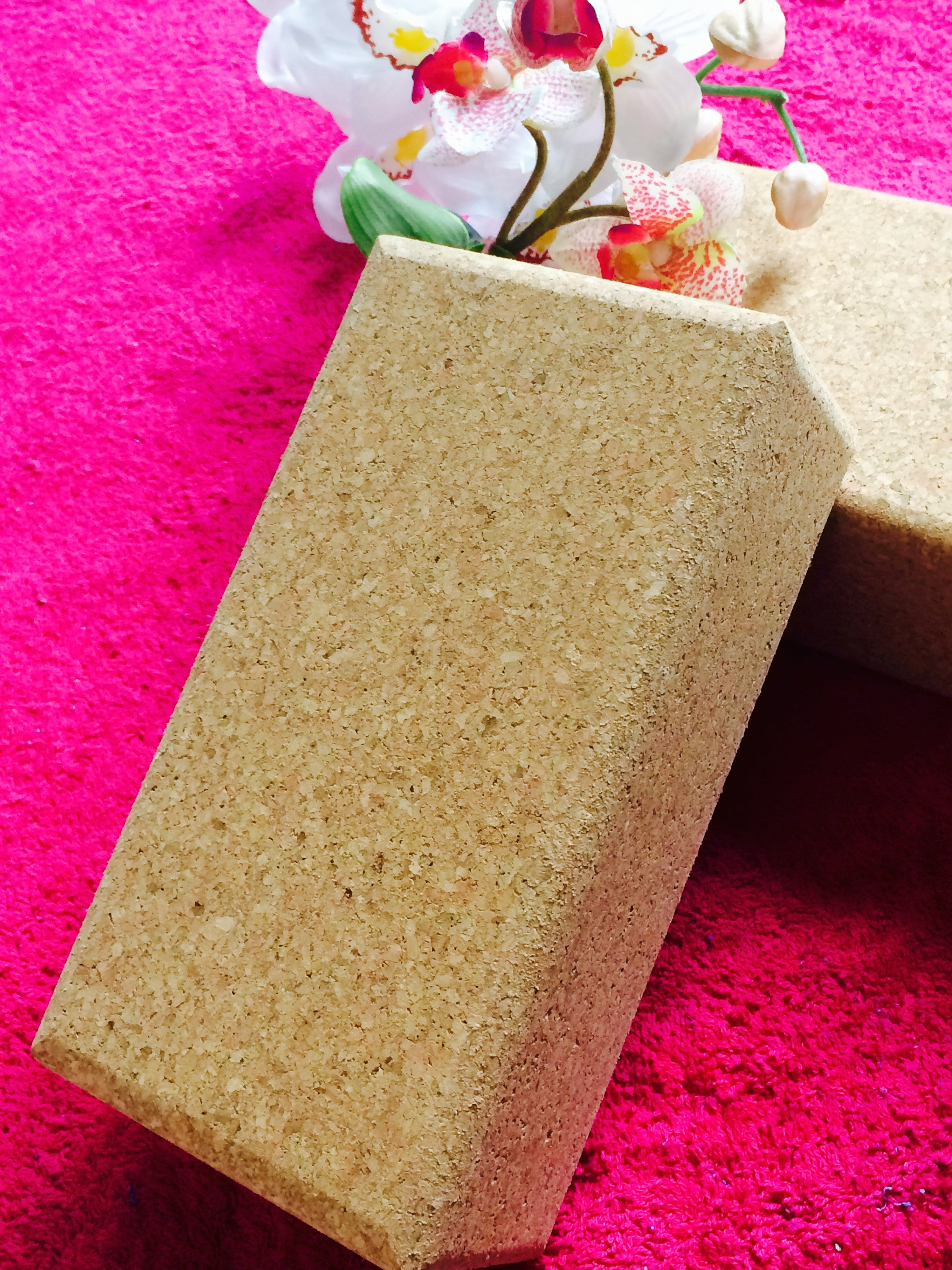 Cork Yoga Block- Light weight & Eco-friendly - Divine Yoga Shop