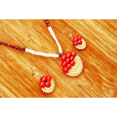 Half is full- Paddy Necklace Set - Divine Yoga Shop