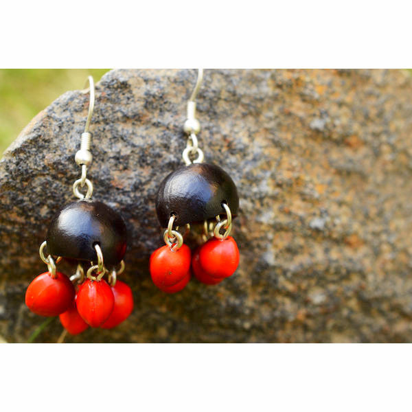 Nature Parachute Earrings - Divine Yoga Shop