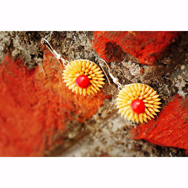 Sunrise Paddy Earrings - Divine Yoga Shop