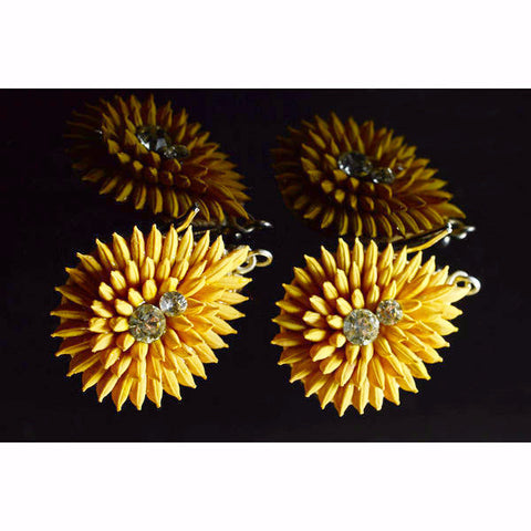 Sunflower Sparkle Earrings