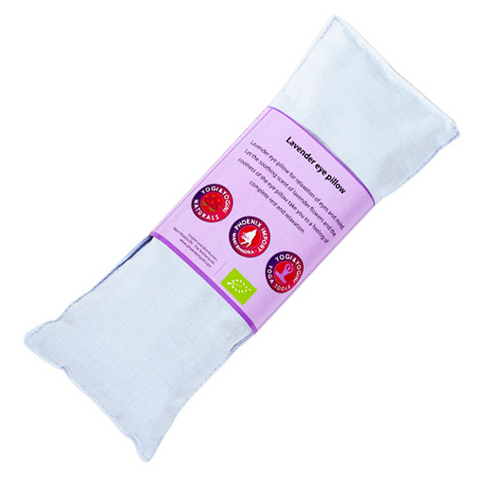 Lavender Eye Pillow- Yoga Eye Pillow- Light Blue