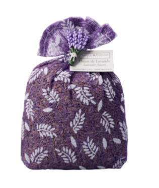 Lavender Bag filled with authentic dried Lavender flowers 50 grams - Divine Yoga Shop