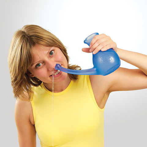 NoseBuddy Neti Pot with Stirring Spoon
