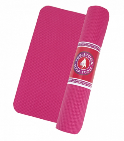 STICKY YOGA MATS ANTI SKID & SHOCK ABSORBING (Pink) - Divine Yoga Shop