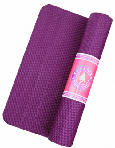 STICKY YOGA MATS ANTI SKID & SHOCK ABSORBING (Violet) - Divine Yoga Shop