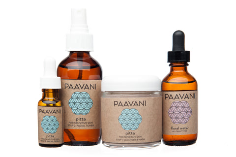 The Pitta Ayurvedic Skincare Ritual Kit - Divine Yoga Shop