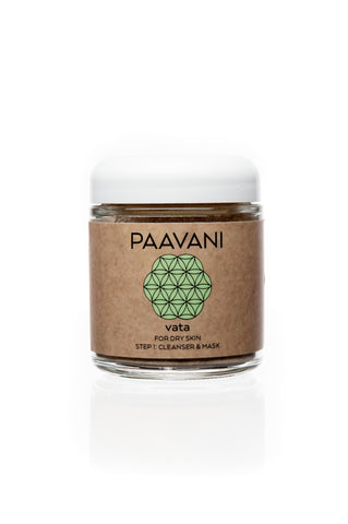 Vata Ayurvedic Cleanser & Mask - Divine Yoga Shop