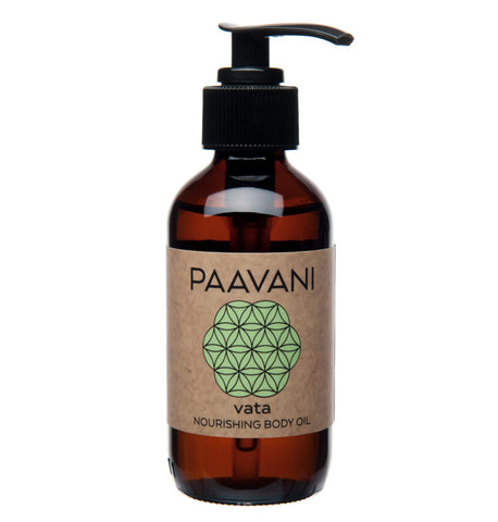Vata Ayurvedic Nourishing Body Oil - Divine Yoga Shop