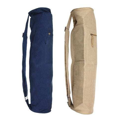 Eco-friendly Jute Yoga Mat Bag - Divine Yoga Shop