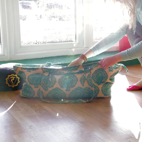 Eco-friendly Deluxe Yoga Prop Bag - Divine Yoga Shop