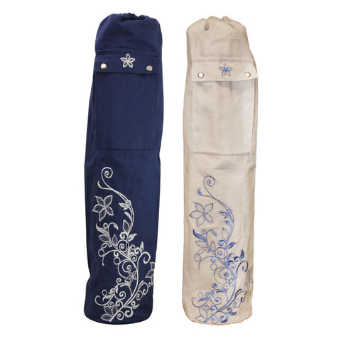 Wildflower Yoga Mat Bag