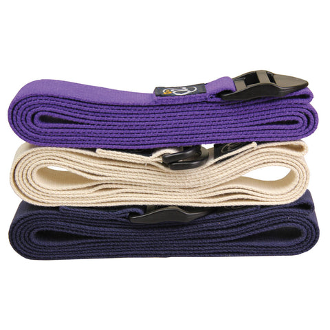 Extra Long Yoga Belt 2.5m - Divine Yoga Shop