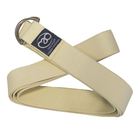 Organic Cotton Yoga Strap 2.5m - Divine Yoga Shop